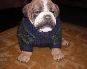 Plum Delight Dog Sweater by Never Felt Better