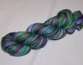 SHORT SKEIN Shy Violet Self Stripes Toasty Sock FOUR colors