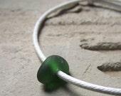 Beach Bunny  - Sea Glass Jewelry - Slide Bracelet OR Anklet
