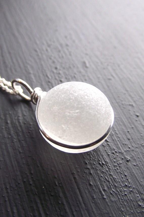sea glass jewelry glow genuine sea glass necklace by sea