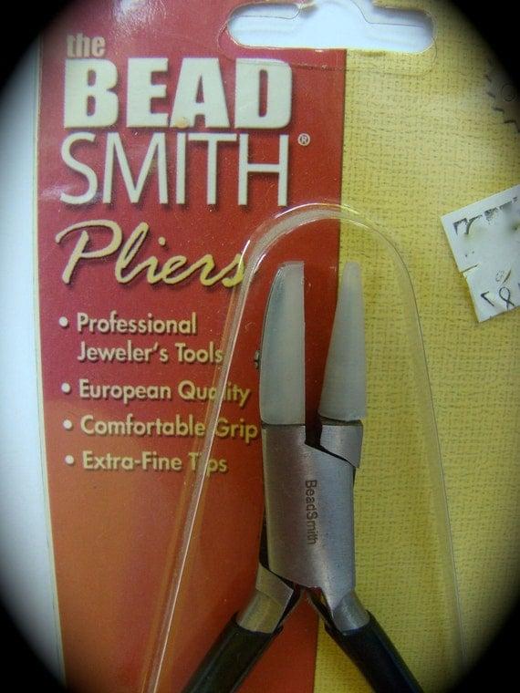 Nylon Jaw Plier Bead Smith boxjoint Plier Series PL568 Beading tools flat/round nylon jaw wire straightening plier