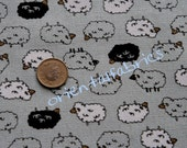 LAST PIECE- Baa Baa Black Sheep Fabric reserved for AprilGranger