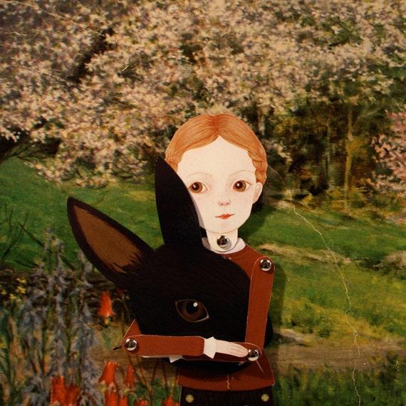 Little Marigold paper doll print
