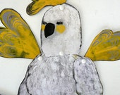 Cockatoo Papageno Articulated Paper Doll DIY or Constructed / Hinged Beasts Series