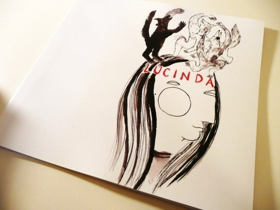 Lucinda / 34 page illustrated graphic story book