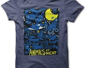 Animals at Night American Apparel T Shirt