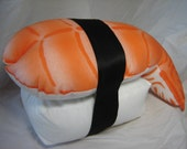 ebi nigiri sushi pillow