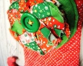 A Dotty Christmas Elf Stocking