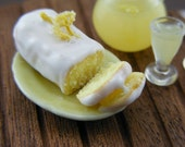 Lemon Cake - 1/12 Dollhouse Miniature Dessert