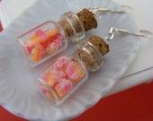 Gummy Candies Jar Earrings