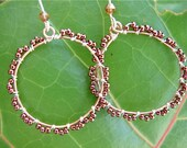 Coppery Hoops