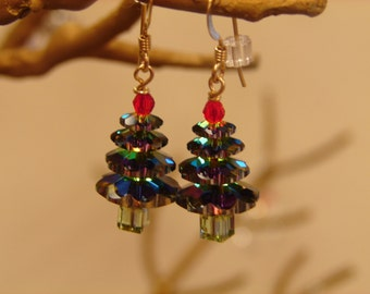 Holiday Tree Earrings