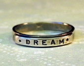 sz 7 Silver DREAM Ring