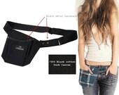 Cargobelt / Tool belt-bag-pouch / Cell phone-PDA-Ipod-wallet Holster / Fannypack / Apron (blk-blk)