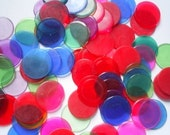 Bingo Circle Markers 50 assorted colors