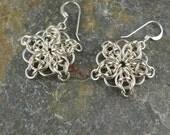 Sterling Silver Celtic Star Earrings