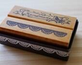 Girlish Stamp - Handmade and Lace