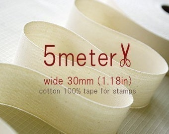 5Meter - TAPE FOR STAMP - wide 30mm