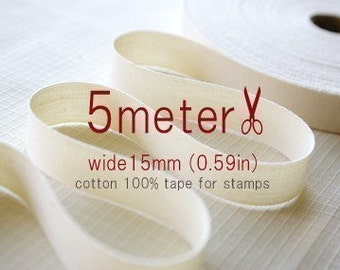 5Meter - TAPE FOR STAMP - wide 15mm