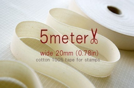 5Meter - TAPE FOR STAMP - wide 20mm