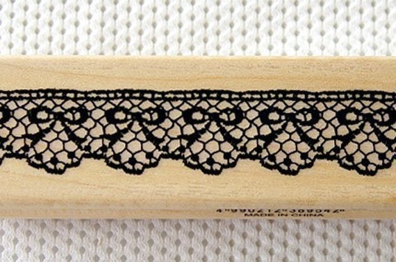 Decorative lace stamp - Ribbon