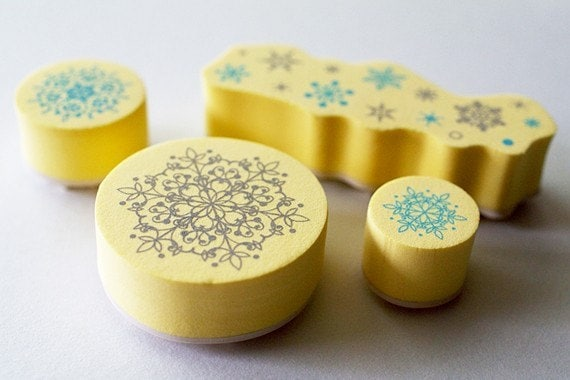 NEW - Duet Stamp Set - lace B