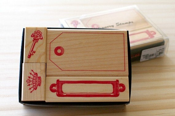 NEW - Stationery stamps - tag type