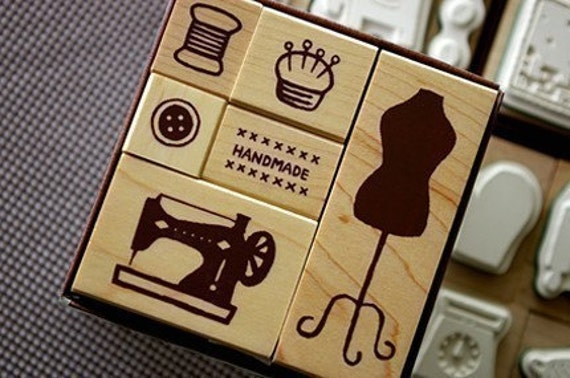 Stamp Marche - Sewing set