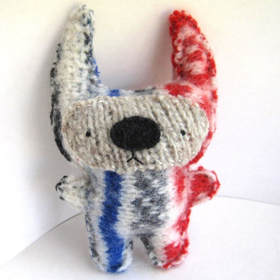 Walter Foo - Recycled Wool Plush Toy