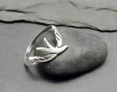 Sterling Bird Ring - SOAR - Handcrafted Silver Ring