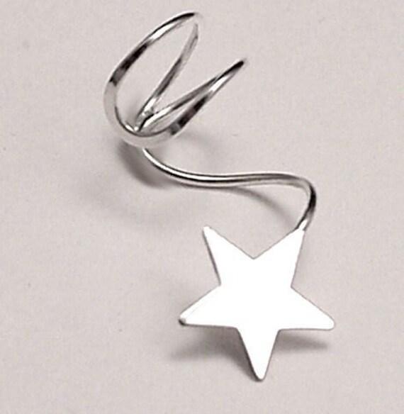 EAR CUFF - Lone Star Sterling Silver Ear Cuff