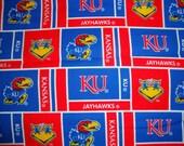 Collegiate Fabric-  Univeristy of Kansas