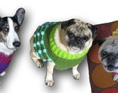 Custom Dog Sweater Vest - Crochet - Size S - Made to Order for you