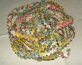 Vintage Chewing Gum Wrapper Chain