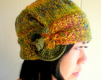 Women Knit Cloche Wool Hat - Hola Fiesta