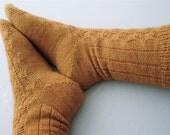 Pattern - Toe Up Fir Cone Sock Knitting Pattern by Blarney Yarn