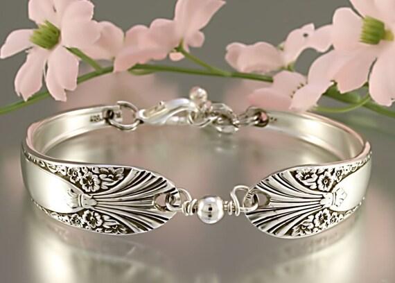 Silver Spoon Bracelet Radience By Crown Silverplate