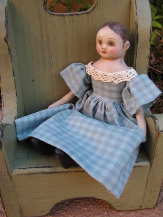 reserved for Sarah Izannah Walker Inspired Doll Kathryn mini