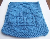 Winter Cottage Dishcloths - Reserved for WeeBeeUniquesByJulie