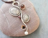 Sea Urchin Collection - Leather Sea Necklace
