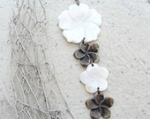 Flower Dance Mother of Pearl Necklace