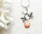 Sea Urchin Collection - Special Pink Flower Necklace