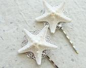 Starfish Bobby Hair Pins - Sea Treasure Collection