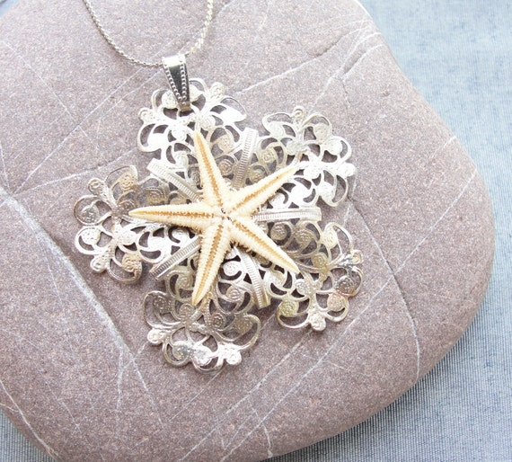 Lacey Starfish Necklace - Sea Treasure Collection