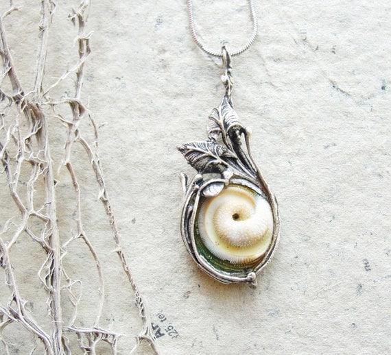 Sea Treasure Collection - Eye of Shiva Shell Necklace