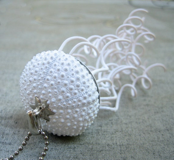 Sea Urchin Collection- Jellyfish Necklace
