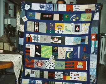 Memory Quilt for David