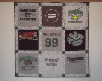 T-Shirt/Memory quilt or Wall Hanging