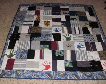Custom Memory clothes quilt