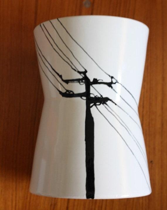 Urban Power Line Vase